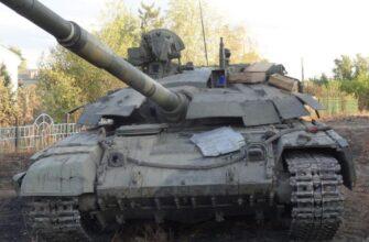 В ЛНР трофейный танк «Булат» получил новое бронирование