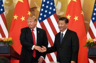 Проигрывая торговую войну с Китаем, Трамп достает последний козырь