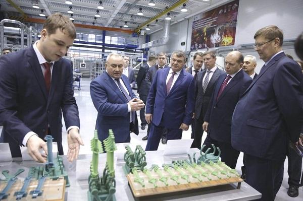 В Рыбинске открыли новое производство лопаток газотурбинных двигателей
