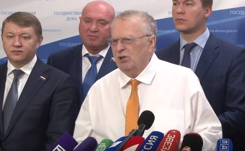 Жириновский назвал самое страшное преступление Ельцина