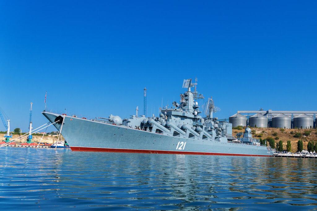 Стали известны сроки возвращения в строй флагмана ЧФ крейсера «Москва»