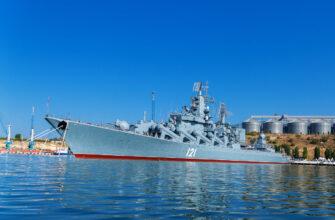 Флагман ЧФ крейсер «Москва» готовится к возвращению в состав флота