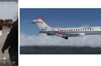 В Афганистане разбился самолет ВВС США Bombardier E-11N (Видео)