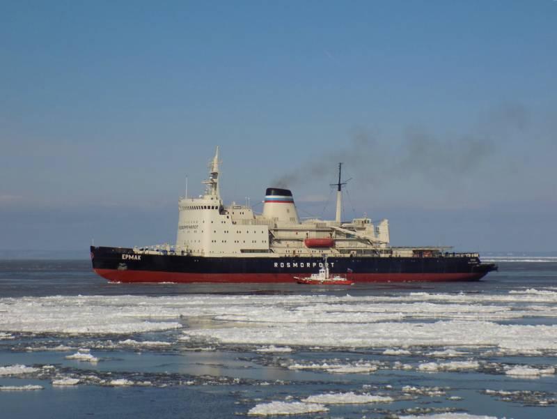 Российский ледокольный флот: там, где климат суров
