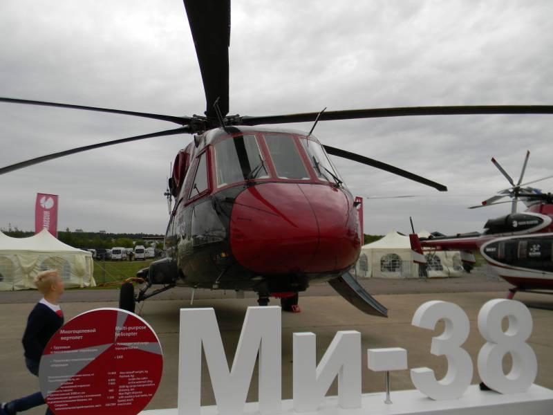Ми-38. История длиной в сорок лет