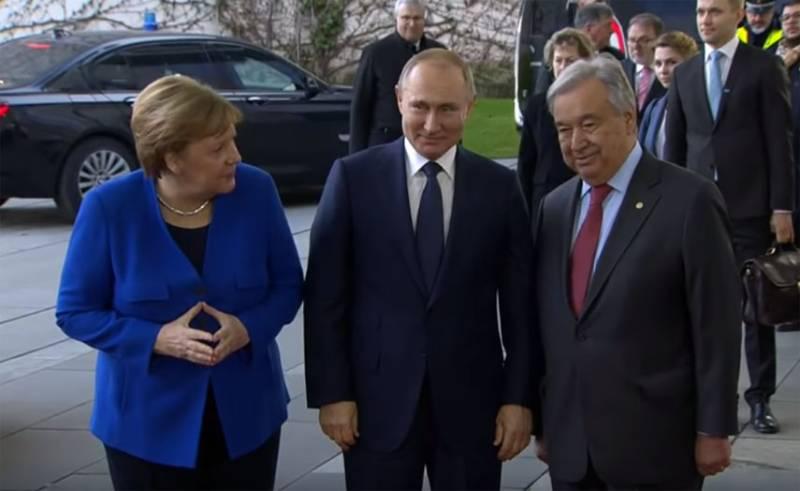 Европейские репортёры назвали Путина единственным победителем после встречи в Берлине