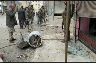 В Маарат ан-Нумане боевик подорвал себя (видео)