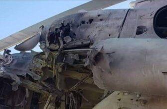 Талибами подбит вертолет Ми-8 частной оборонной компании Молдавии