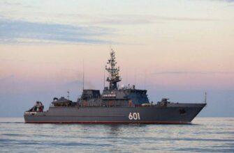 Новейший тральщик «Иван Антонов» впервые направился в Средиземное море