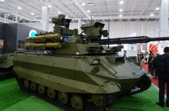 «Уран-6» и «Уран-9» на вооружении Восточного военного округа