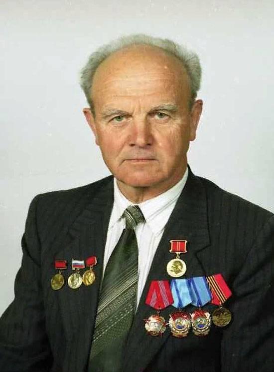 Ушёл из жизни конструктор танковой защиты «Дрозд» и снарядов «Краснополь» Василий Бакалов