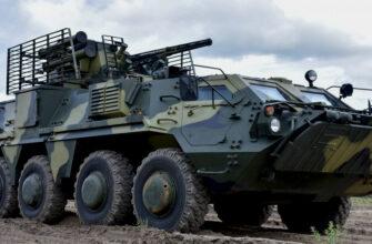 Украинские БТР-4 получили корпуса с трещинами