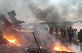 В подконтрольном протурецким боевикам городе Азаз (Сирия) прогремел мощный взрыв