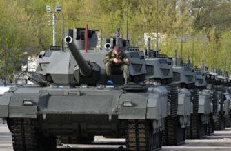Пять типов танков примут участие в параде Победы