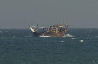 Пиндосы показали захват иранского судна якобы с грузом оружия