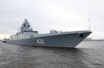 Первый фрегат с полностью российскими двигателями спустят на воду летом