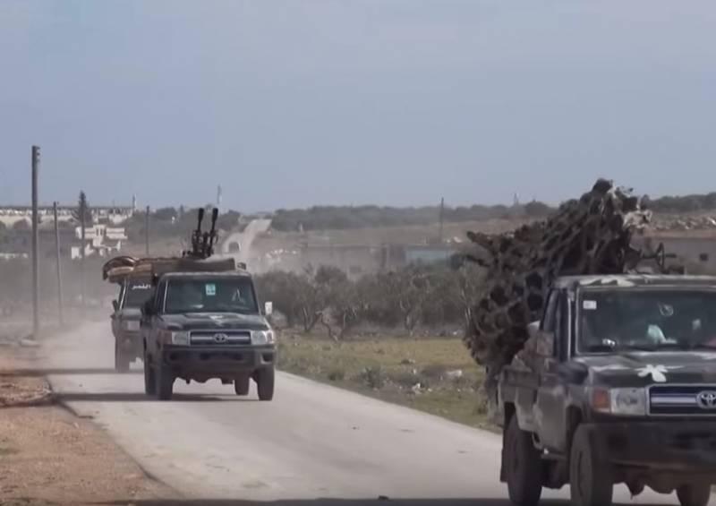 Боевики с ПТУРа поразили пикап с зушкой САА (Видео)