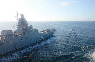 «Адмирал Касатонов» прошел испытания с танкером