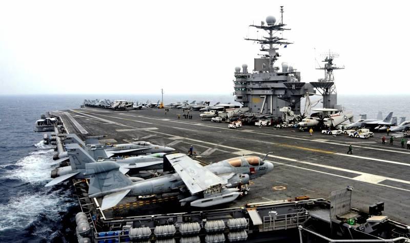 Новый очаг заражения: Американский авианосец разносит COVID-19 по миру