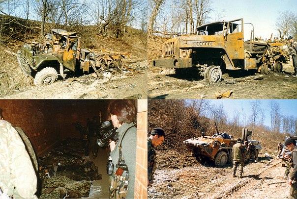 Гибель Пермского и Березниковского Омона в Жани- Ведено 29 марта 2000г