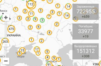 Сводка на утро 30 марта. Подтверждено 722955 (+51531 за сутки) инфицированных. Погибших 33977 (+3021) чел., Выздоровевших 151312 (+5626) чел. В России зарегистрировано 1534 (+270) случая коронавирусной инфекции.