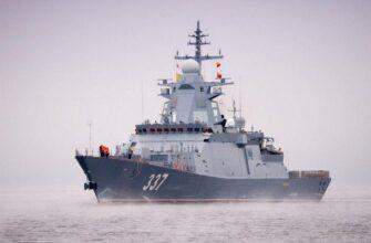 Корвет «Гремящий» возвращается в Балтийское море