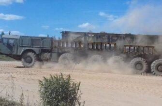 Создание самоходной пусковой установки комплекса «Нудоль»