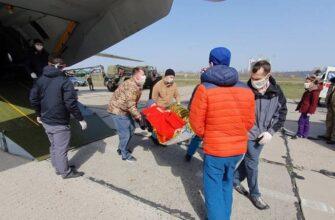 В Одессе приземлился спецборт с 14-ю ранеными украинскими военнослужащими