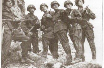 Советские горные стрелки в Афганистане