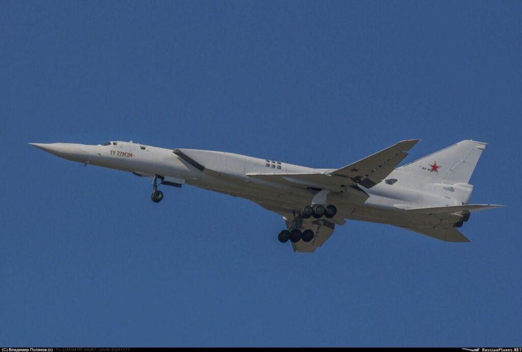 Второй Ту-22М3М поднялся в воздух