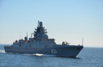 Пополнение ВМФ России надводными боевыми кораблями в 2020 году