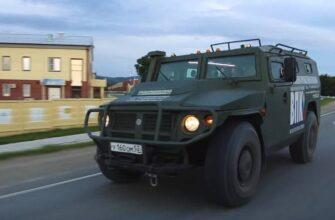 В России создали бронеавтомобиль «Тигр» с защитой от коронавируса