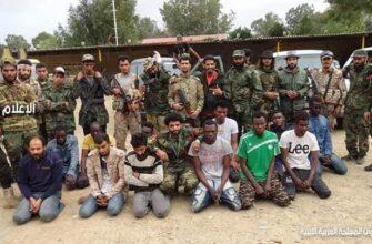 Армия Хафтара взяла в плен наемников в Триполи