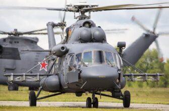 Вертолёты Ми-8АМТШ поступили на вооружение ЮВО