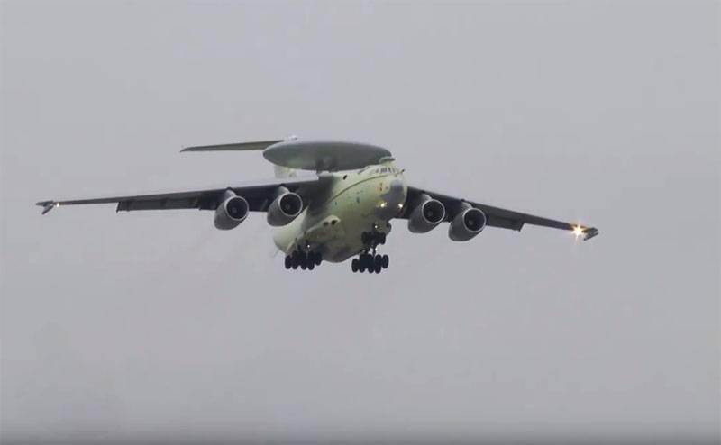 Названы сроки поставок самолёта ДРЛО А-100 «Премьер» в российские ВКС