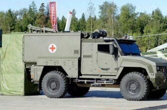 Партия санитарных бронеавтомобилей поступила в ЮВО