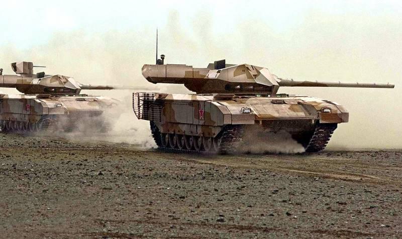 Заявлено о потере одного танка Т-14 «Армата» в Сирии