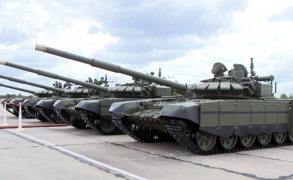Партия танков Т-72Б3М поступила в ЦВО
