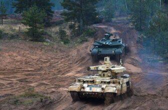 Т-90М и БМПТ «Терминатор» отправлены в войска