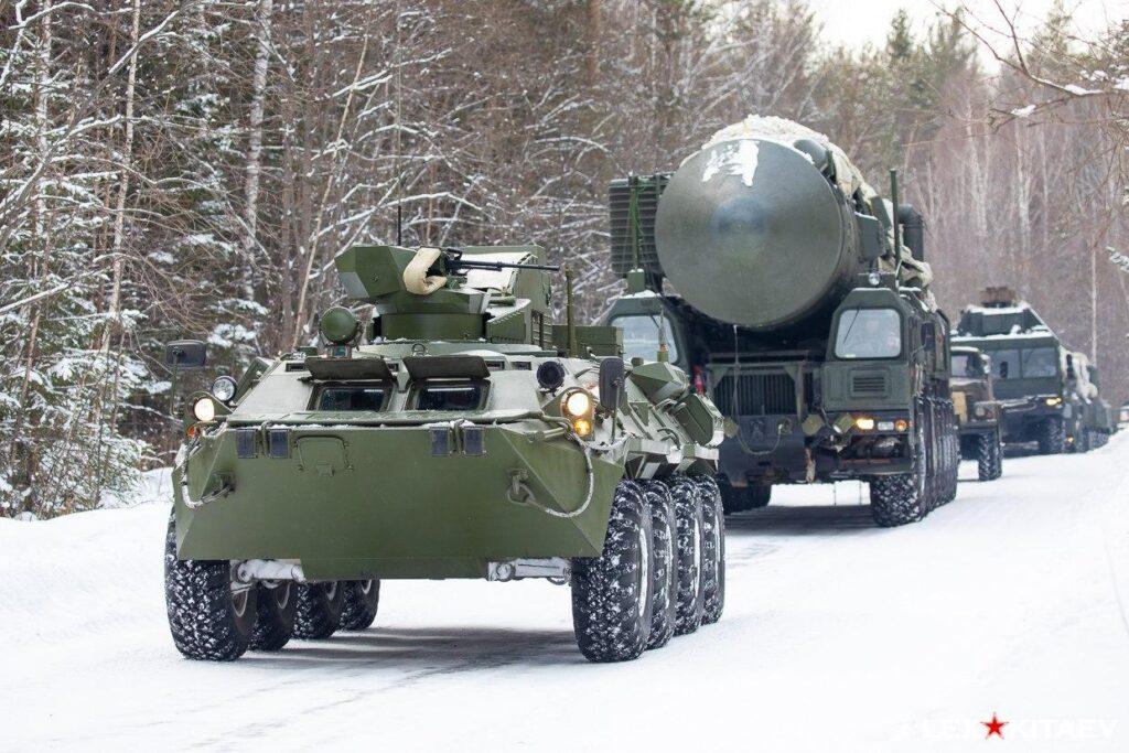Противодиверсионные машины «Тайфун-М» в РВСН