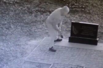 "Уничтожение памятника карателям из ""Айдара"""