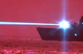 Американцы впервые показали боевой лазер в действии (видео)
