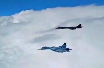 ВКС России перехватили сверхзвуковые бомбардировщики США