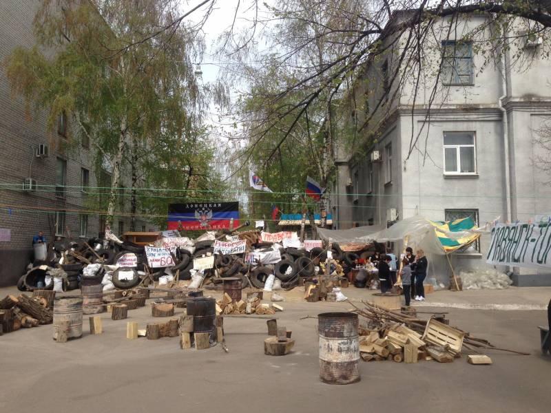 Первый бой на Донбассе в 2014: некоторые подробности
