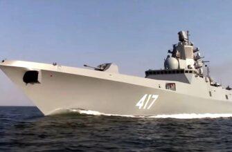 Россия вооружается фрегатами «цифровой эпохи»