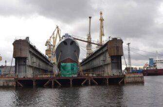 Названы новые сроки спуска на воду фрегата проекта 22350 «Адмирал Головко»