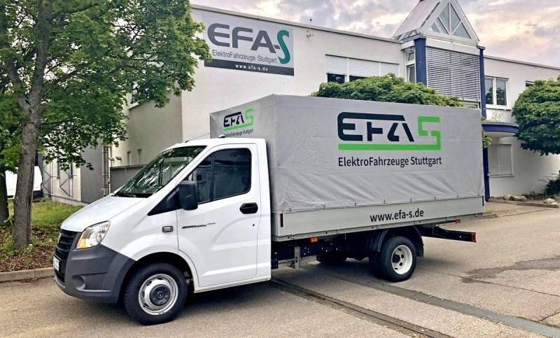 В Германии начали собирать электрические «ГАЗели»