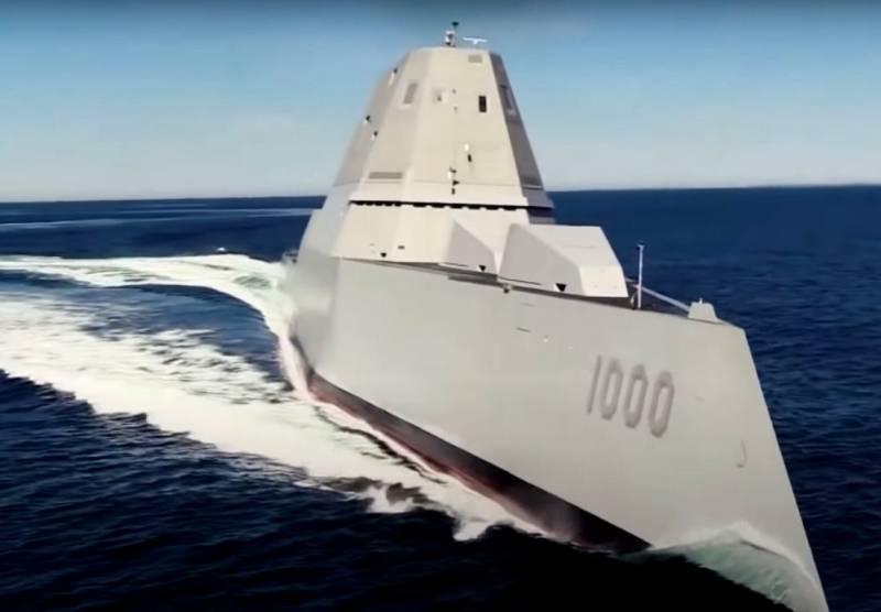 О проблемах эсминца Zumwalt ВМС США и испытании новых пушек Мk 46 Bushmaster