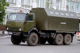 КамАЗ-4310: легендарный армейский вездеход-трудяга