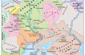 Волынская земля в X—XI веках